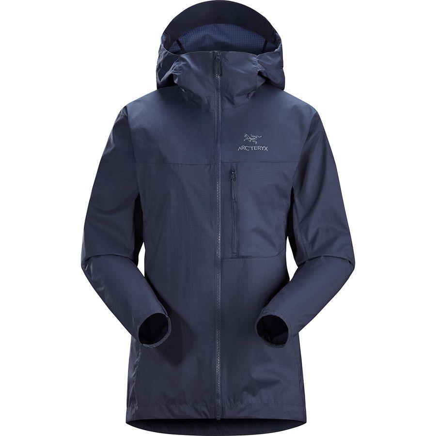【ハイキング 登山 マウンテン アウトドア】【ウェア アウター】【山ガール ファッション ブランド】【大きいサイズ ビッグサイズ】 (取寄)アークテリクス レディース スカーミッシュ フーデッド ジャケット Arc'teryx Women Squamish Hooded Jacket Exosphere