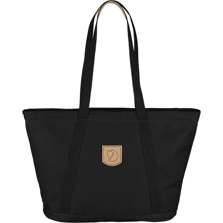 【エントリーでポイント5倍】(取寄) フェールラーベン レディース パック No.4ワイド バッグ トート Fjallraven Women Totepack No.4 Wide Bag Black