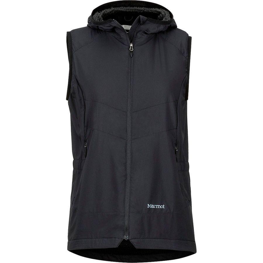 (取寄)マーモット レディース アルファ 60 ベスト Marmot Women Alpha 60 Vest Black