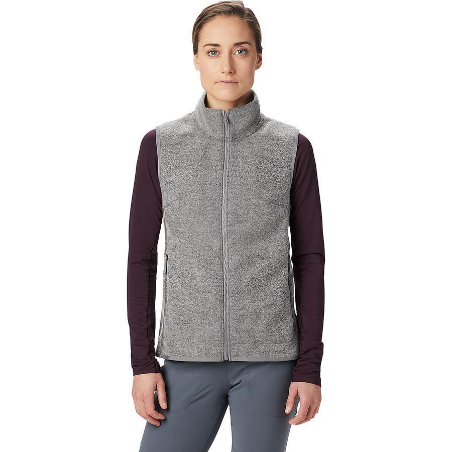 【クーポンで最大2000円OFF】(取寄)マウンテンハードウェア レディース ハッチャー ベスト Mountain Hardwear Women Hatcher Vest Manta Grey