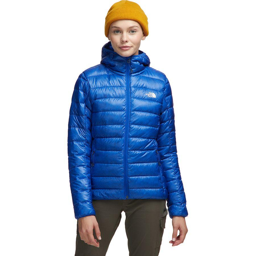 【ハイキング 登山 マウンテン アウトドア】【ウェア アウター】【山ガール ファッション ブランド】【大きいサイズ ビッグサイズ】 (取寄)ノースフェイス レディース シエラ ピーク ダウン フーデッド ジャケット The North Face Women Sierra Peak Down Hooded Jacket Tnf Blue