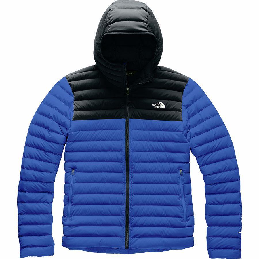 (取寄)ノースフェイス メンズ ストレッチ ダウン フーデッド ジャケット The North Face Men's Stretch Down Hooded Jacket Tnf Blue