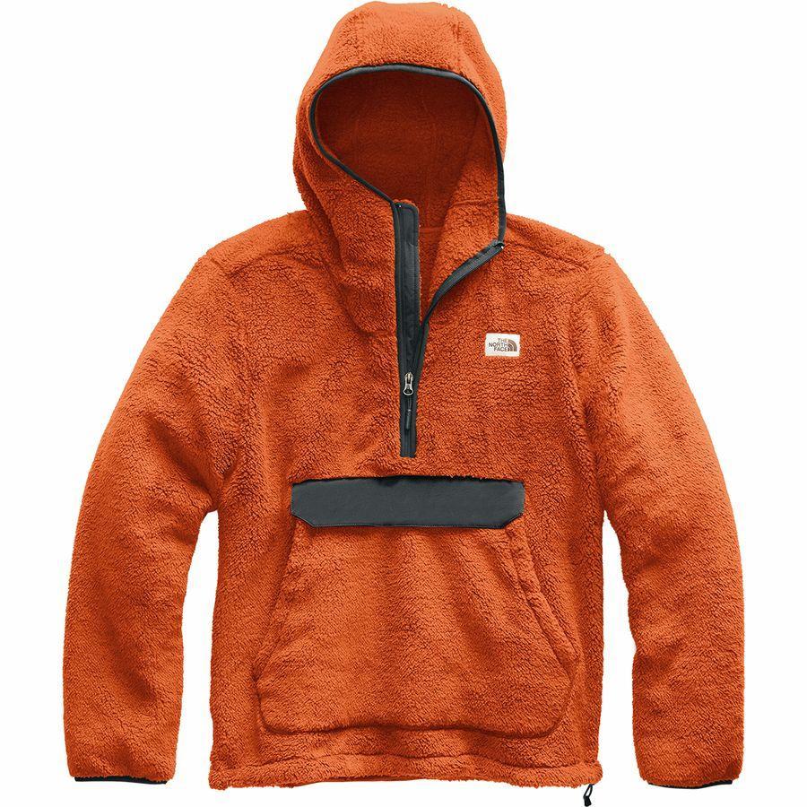 (取寄)ノースフェイス メンズ Campshire プルオーバー パーカー The North Face Men's Campshire Hoodie Pullover Papaya Orange/Asphalt Grey