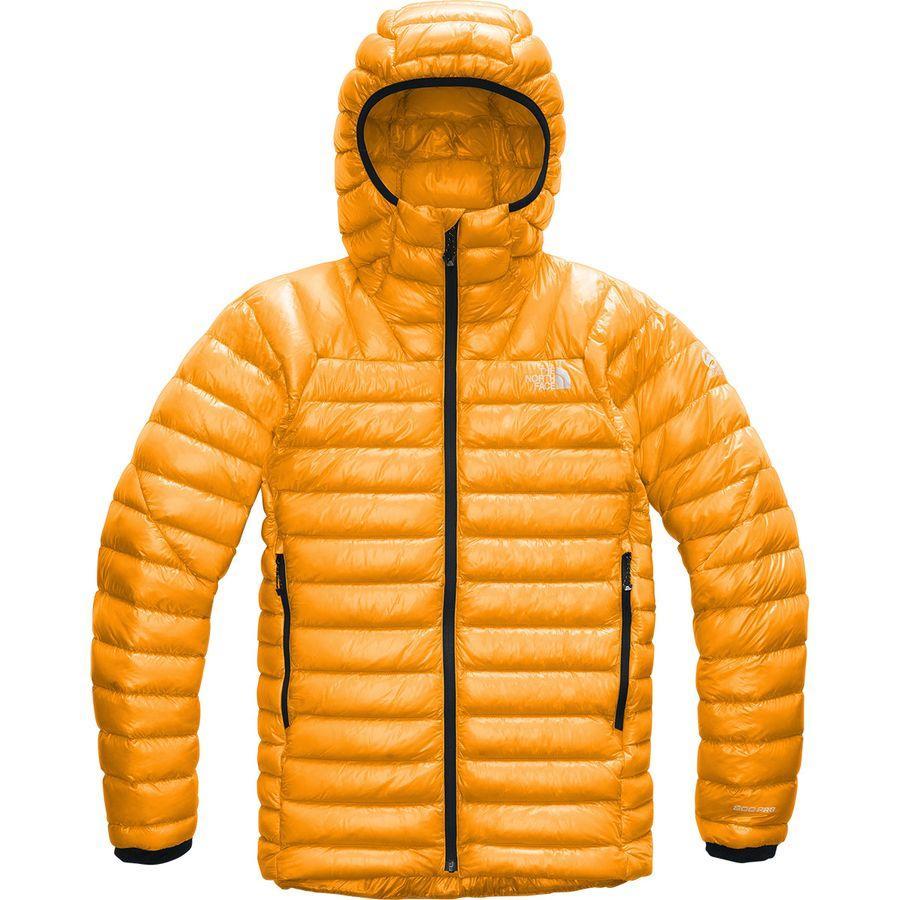 (取寄)ノースフェイス メンズ サミット L3 フーデッド ダウン ジャケット The North Face Men's Summit L3 Hooded Down Jacket Knockout Orange/Knockout Orange