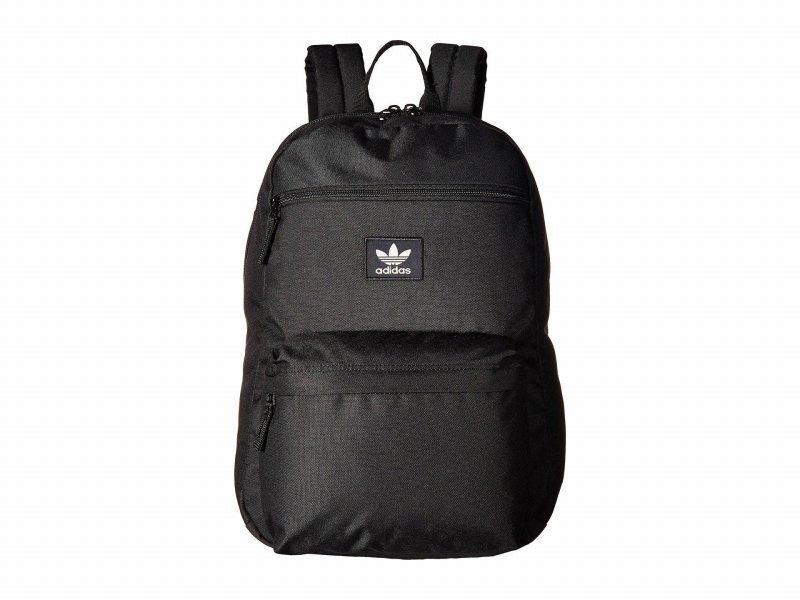 【エントリーでポイント5倍】(取寄)アディダス オリジナルス ユニセックス オリジナル ナショナル バックパック adidas originals Unisex adidas Originals Originals National  Backpack Black
