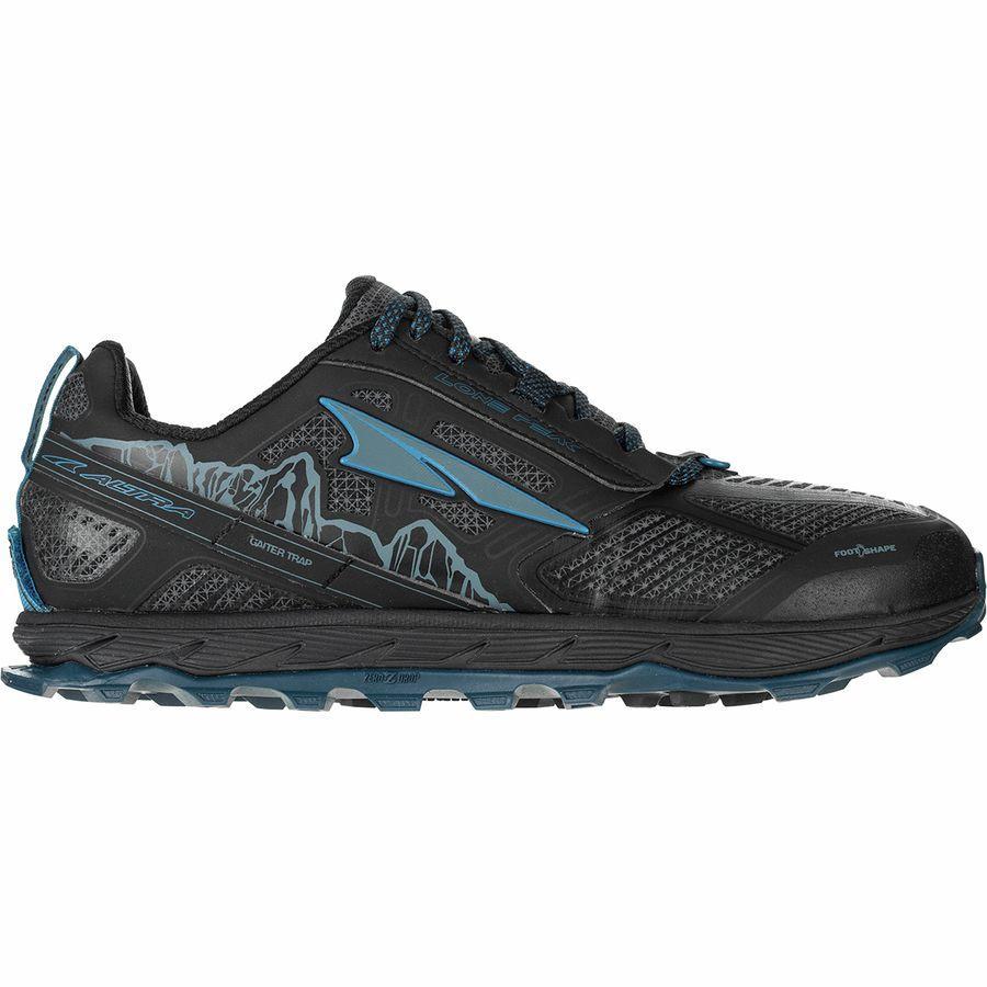 【クーポンで最大2000円OFF】(取寄)アルトラ メンズ ローン ピーク 4ロウ RSM トレイル ランニング シューズ Altra Men's Lone Peak 4 Low RSM Trail Running Shoe Running Shoes Black/Blue