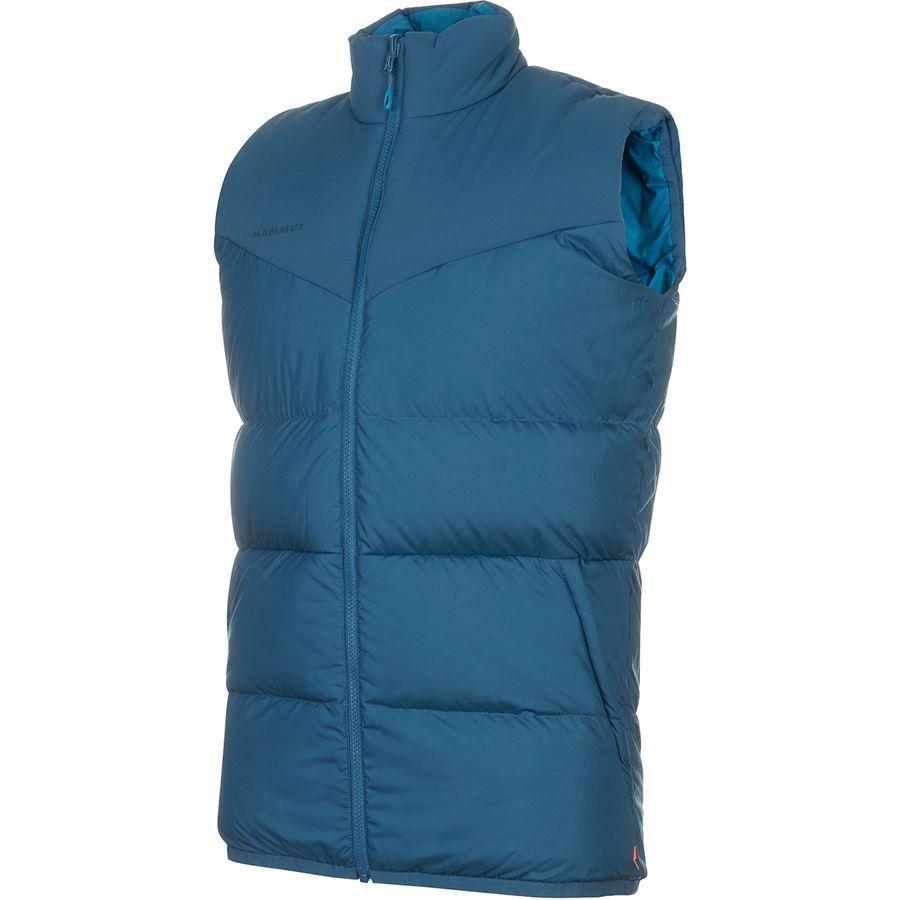 【ハイキング 登山 マウンテン アウトドア】【ウェア アウター】【大きいサイズ ビッグサイズ】 (取寄)マムート メンズ ホワイトホーン イン ベスト Mammut Men's Whitehorn IN Vest Wing Teal/Sapphire