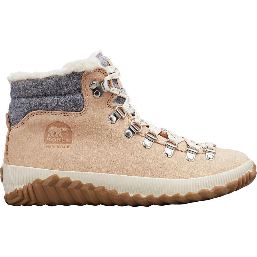 (取寄)ソレル レディース アウト Nアバウト プラス コンクエスト ブーツ Sorel Women Out N About Plus Conquest Boot Natural Tan