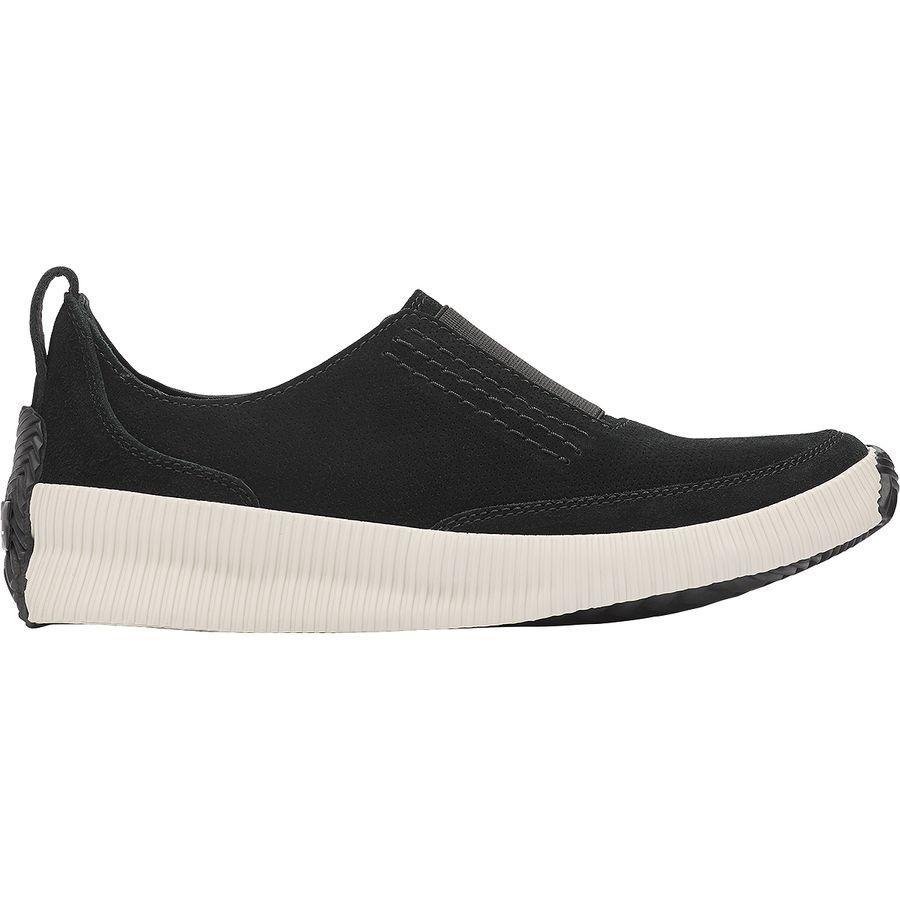 (取寄)ソレル レディース アウト 'Nアバウト プラス スリップ オン シューズ Sorel Women Out 'N About Plus Slip On Shoe Black