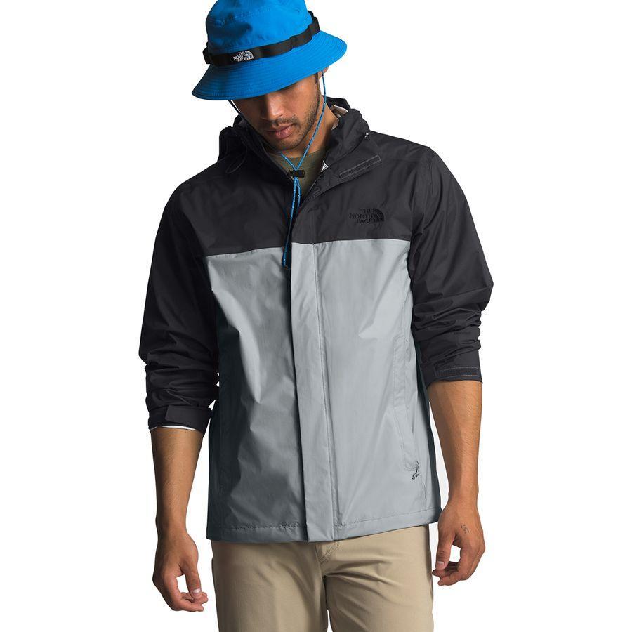 【クーポンで最大2000円OFF】(取寄)ノースフェイス メンズ ベンチャー 2 フーデッド ジャケット The North Face Men's Venture 2 Hooded Jacket High Rise Grey/Asphalt Grey