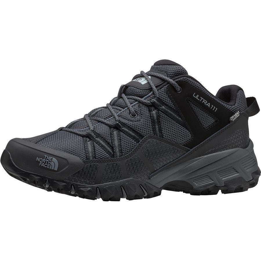 【クーポンで最大2000円OFF】(取寄)ノースフェイス ユニセックス ウルトラ 111 トレイル ランニング シューズ The North Face Men's Ultra 111 Trail Running Shoe Running Shoes TNF Black/Dark Shadow Grey