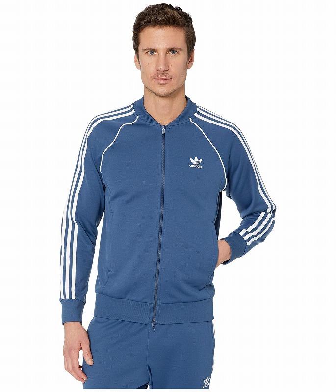 (取寄)アディダス オリジナルス メンズ スーパースター トラック トップ adidas originals Men's Superstar Track Top Night Marine