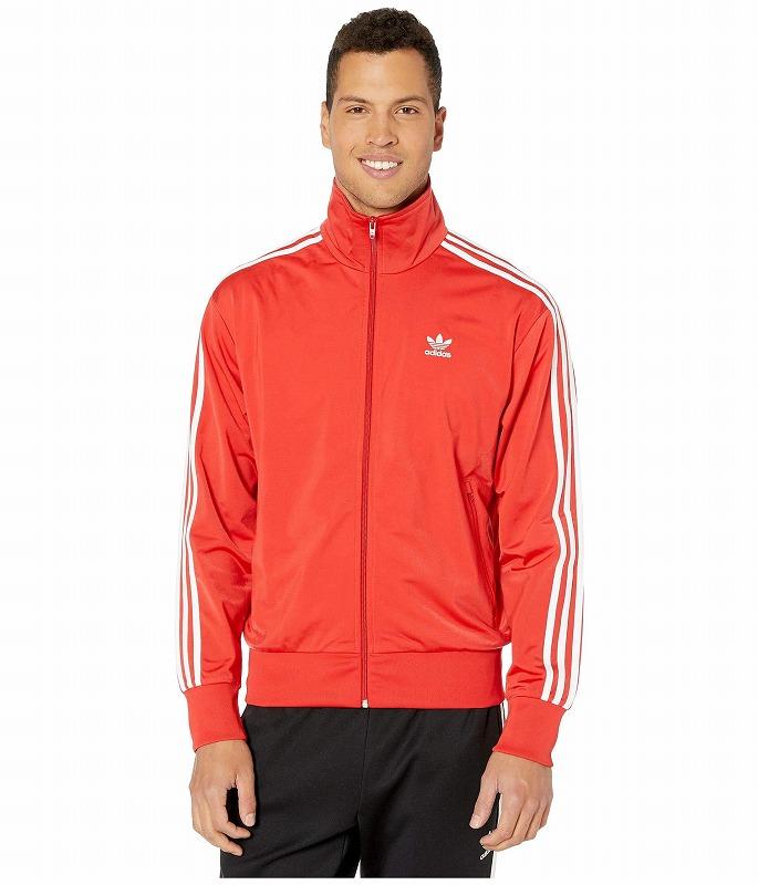 【クーポンで最大2000円OFF】(取寄)アディダス オリジナルス メンズ ファイヤーバード トラック ジャケット adidas originals Men's Firebird Track Jacket Lush Red