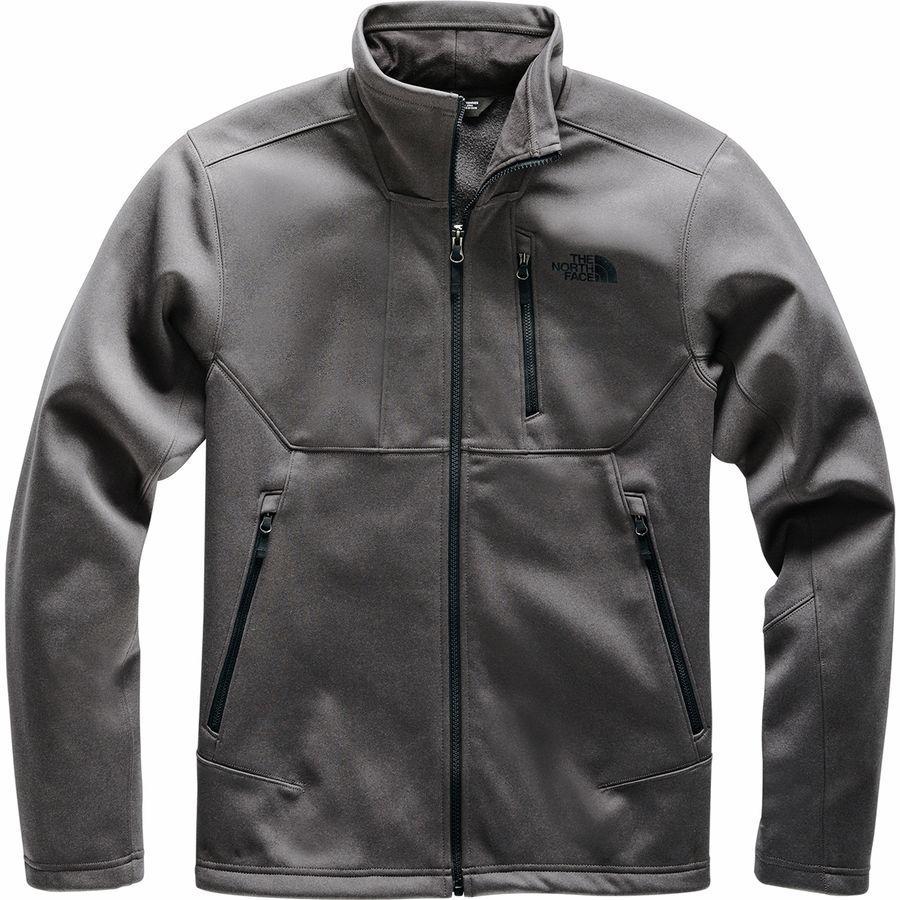 【クーポンで最大2000円OFF】(取寄)ノースフェイス メンズ アペックス リソル ソフトシェル ジャケット The North Face Men's Apex Risor Softshell Jacket Tnf Dark Grey Heather