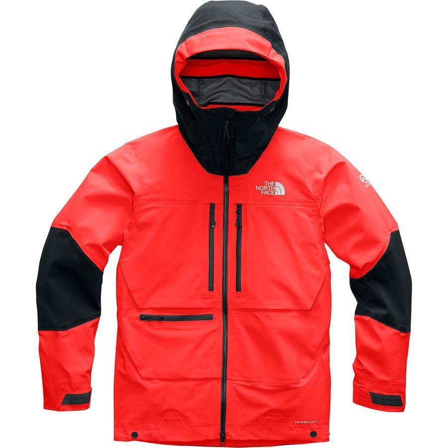 (取寄)ノースフェイス メンズ サミット L5フューチャーライト ジャケット The North Face Men's Summit L5 FUTURELIGHT Jacket Fiery Red/Tnf Black