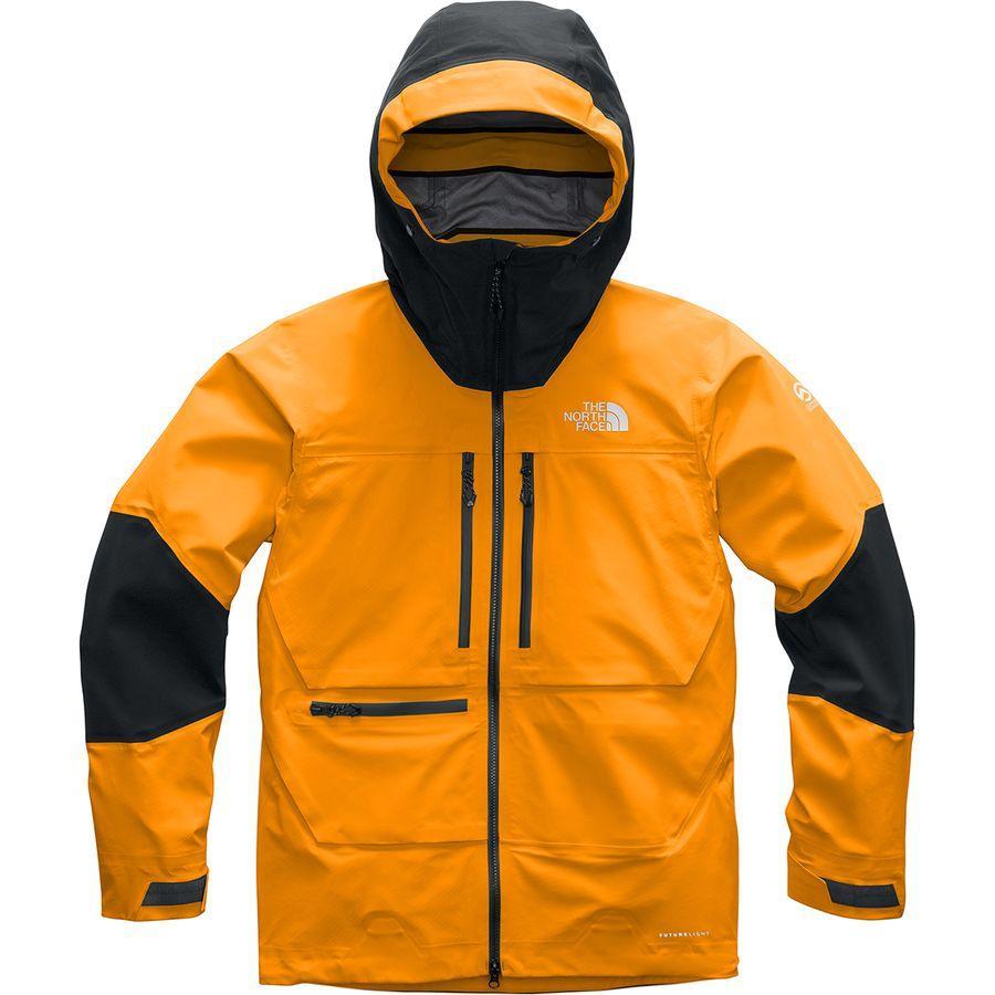 (取寄)ノースフェイス メンズ サミット L5フューチャーライト ジャケット The North Face Men's Summit L5 FUTURELIGHT Jacket Knockout Orange/Tnf Black