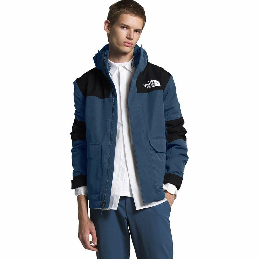【クーポンで最大2000円OFF】(取寄)ノースフェイス メンズ サイプレス インサレーテッド ジャケット The North Face Men's Cypress Insulated Jacket Shady Blue/TNF Black
