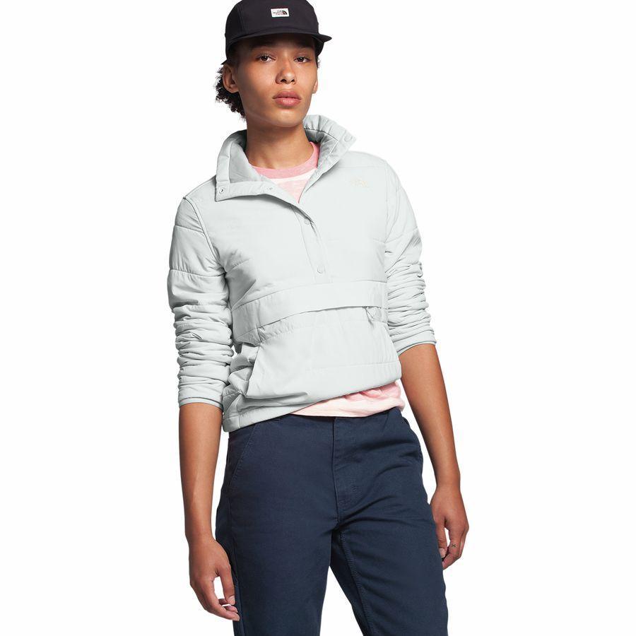 【クーポンで最大2000円OFF】(取寄)ノースフェイス レディース マウンテン トレーナー 3.0プルオーバー アノラック The North Face Women Mountain Sweatshirt 3.0 Pullover Anorak Tin Grey