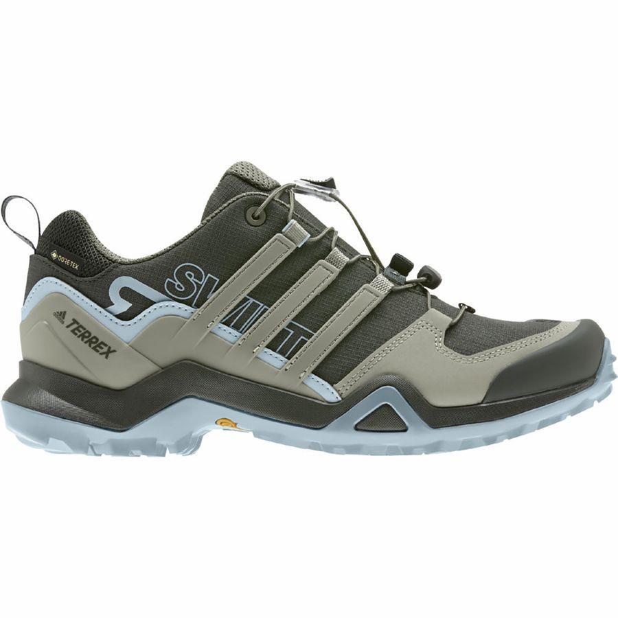 (取寄)アディダス レディース アウトドア テレックス スウィフト R2 Gtx ハイキング シューズ Adidas Women Outdoor Terrex Swift R2 GTX Hiking Shoe Legend Earth/Feather Grey/Ash Grey