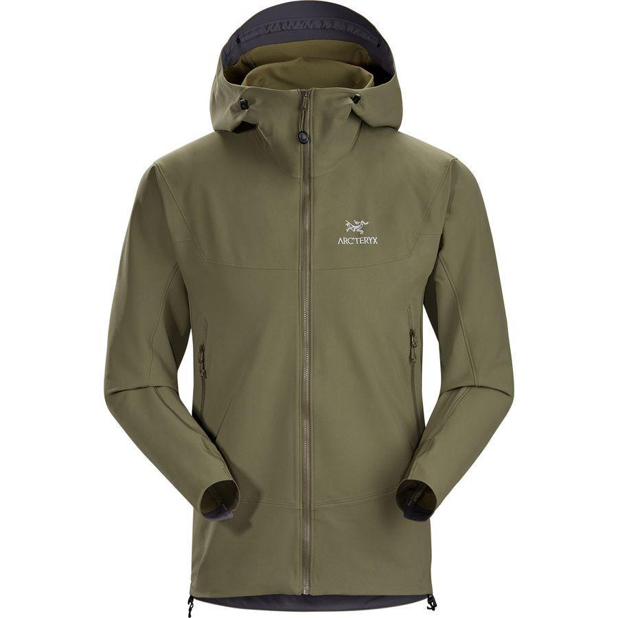 (取寄)アークテリクス メンズ ガマー LT フーデッド ソフトシェル ジャケット Arc'teryx Men's Gamma LT Hooded Softshell Jacket Arbour