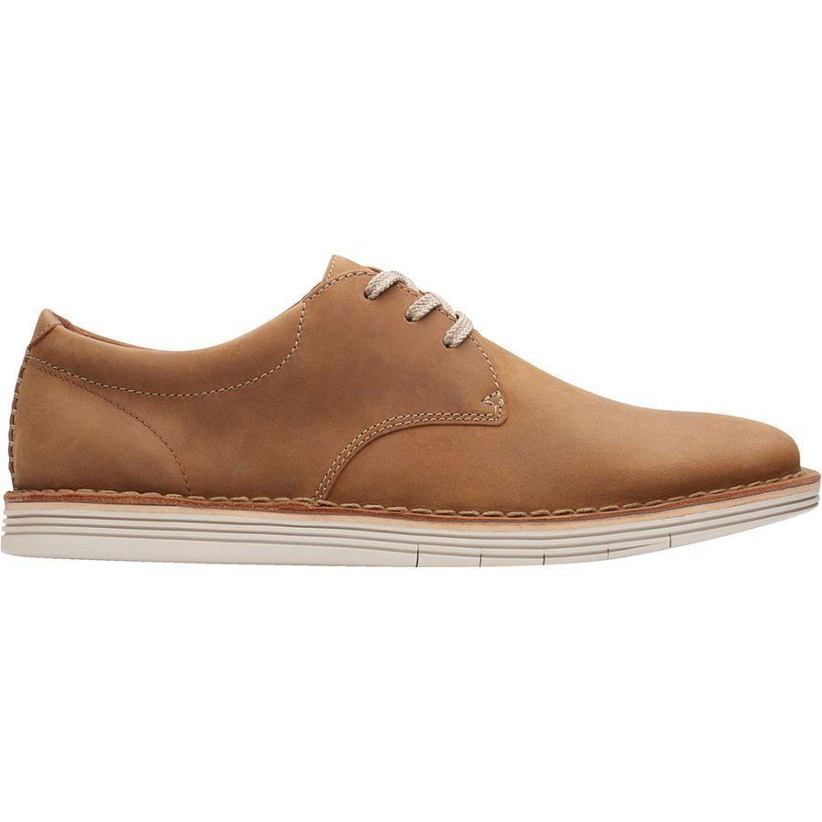 (取寄)クラークス メンズ フォージ ヴァイブ シューズ Clarks Men's Forge Vibe Shoe Tan Leather