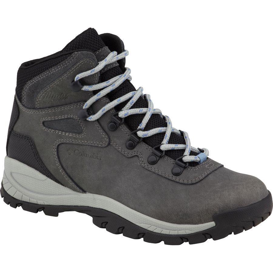 (取寄)コロンビア レディース ニュートン リッジ プラス ハイキング ブーツ Columbia Women Newton Ridge Plus Hiking Boot Quarry/Cool Wave