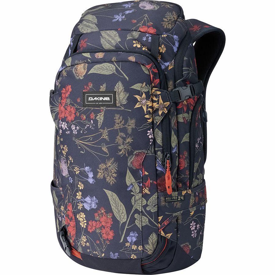 (取寄)ダカイン レディース ヘリ プロ 24L バックパック DAKINE Women Heli Pro 24L Backpack Botanics Pet