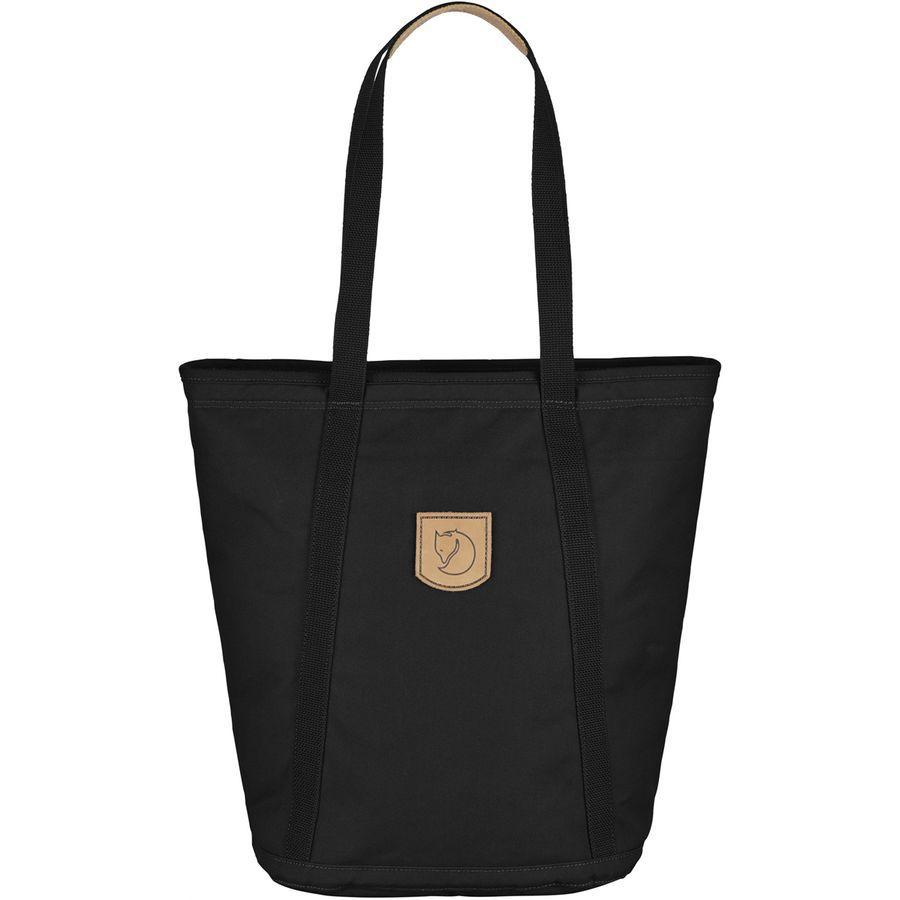 (取寄) フェールラーベン レディース パック No.4トール バッグ トート Fjallraven Women Totepack No.4 Tall Bag Black