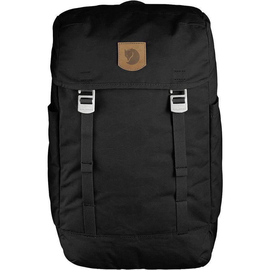 (取寄) フェールラーベン ユニセックス グリーンランド トップ バックパック Fjallraven Men's Greenland Top Backpack Black