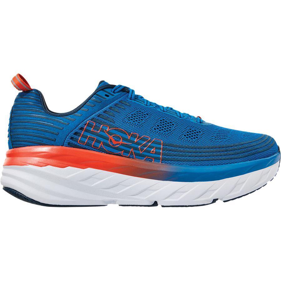 【クーポンで最大2000円OFF】(取寄)ホカ オネ オネ メンズ ボンダイ 6 ランニング シューズ HOKA ONE ONE Men's Bondi 6 Running Shoe Running Shoes Imperial Blue/Majolica Blue