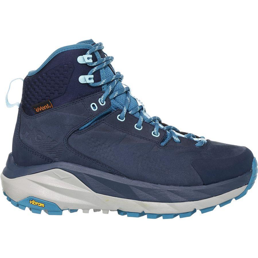(取寄)ホカ オネ オネ レディース スカイ カハ ハイキング ブーツ HOKA ONE ONE Women Sky Kaha Hiking Boot Black Iris/Blue Sapphire