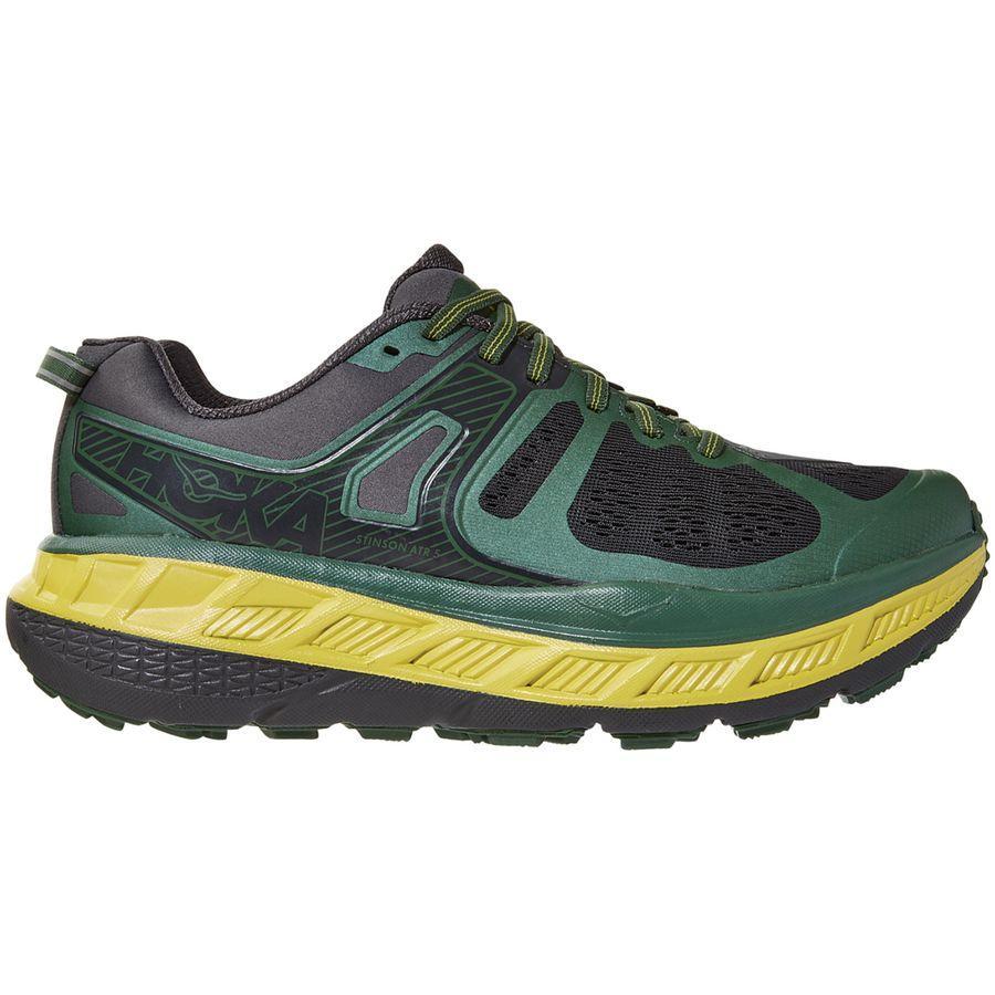 (取寄)ホカ オネ オネ メンズ スティンソン ATR 5 ランニング シューズ HOKA ONE ONE Men's Stinson ATR 5 Running Shoe Running Shoes Myrtle/Grey Pinstripe