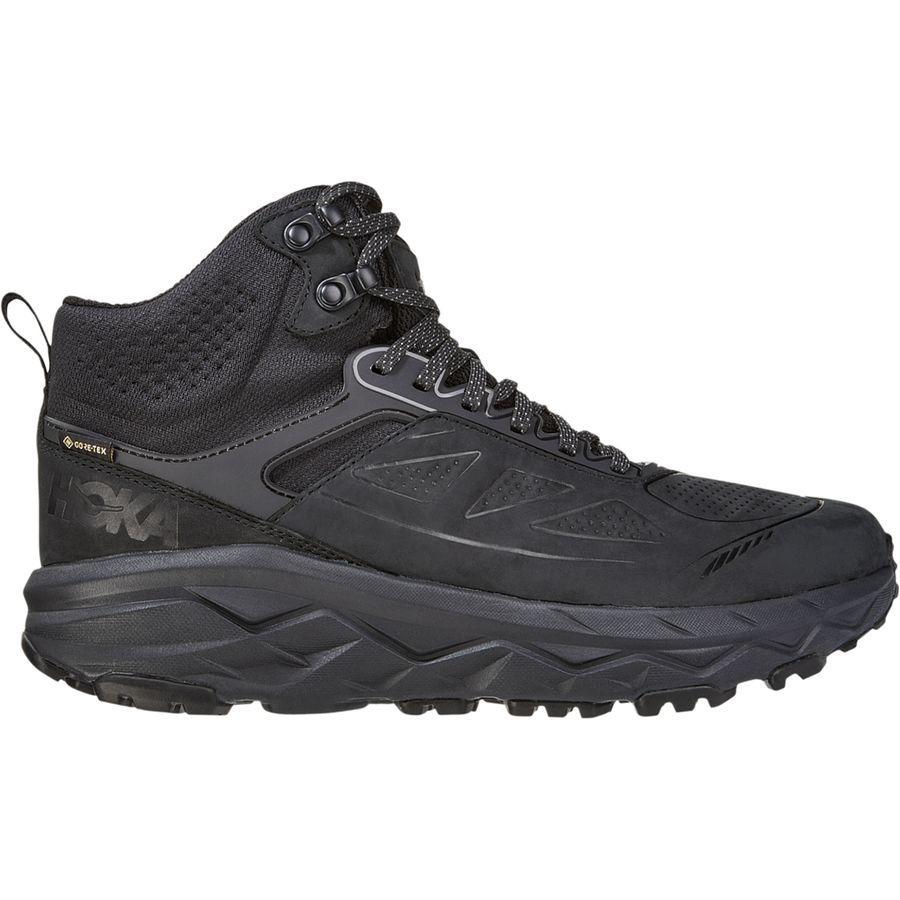 (取寄)ホカ オネ オネ メンズ チャレンジャー ミッド Gtx ハイキング シューズ HOKA ONE ONE Men's Challenger Mid GTX Hiking Shoe Black