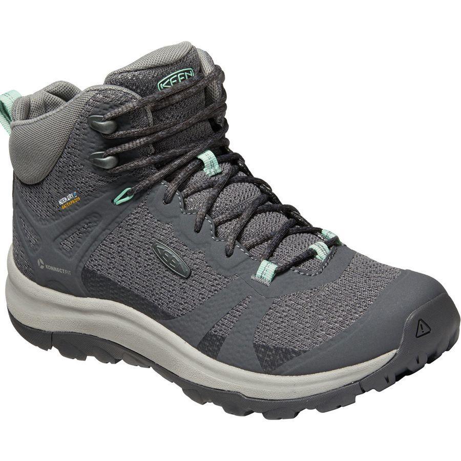 【クーポンで最大2000円OFF】(取寄)キーン レディース テラドーラ 2 ミッド WP ハイキング ブーツ KEEN Women Terradora II Mid WP Hiking Boot Magnet/Ocean Wave