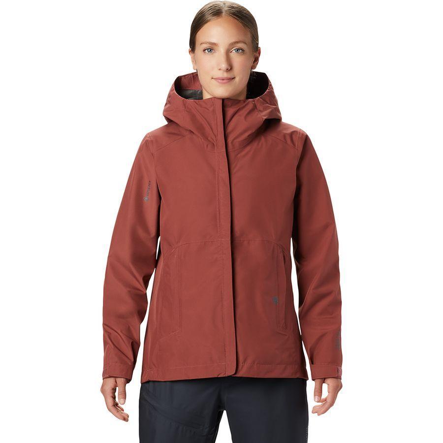 (取寄)マウンテンハードウェア レディース エクスポージャー/ 2 Gore-Texパックライト ジャケット Mountain Hardwear Women Exposure/2 Gore-Tex Paclite Jacket Washed Rock