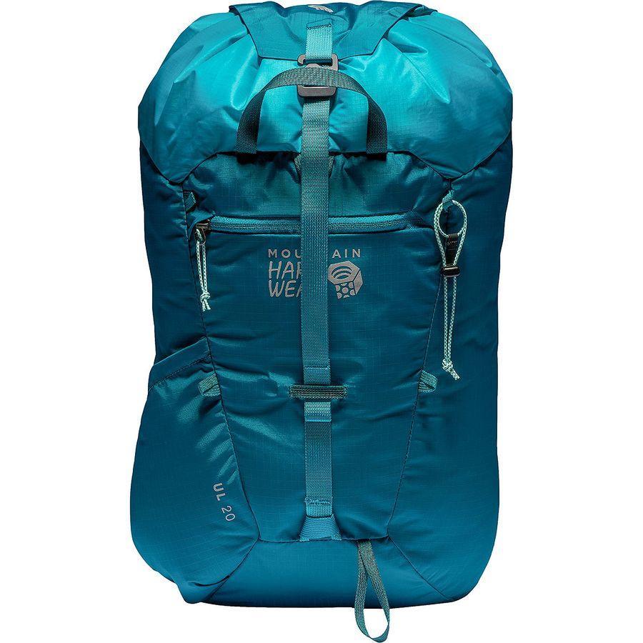 【エントリーでポイント5倍】(取寄)マウンテンハードウェア ユニセックス UL20 バックパック Mountain Hardwear Men's UL 20 Backpack Dive