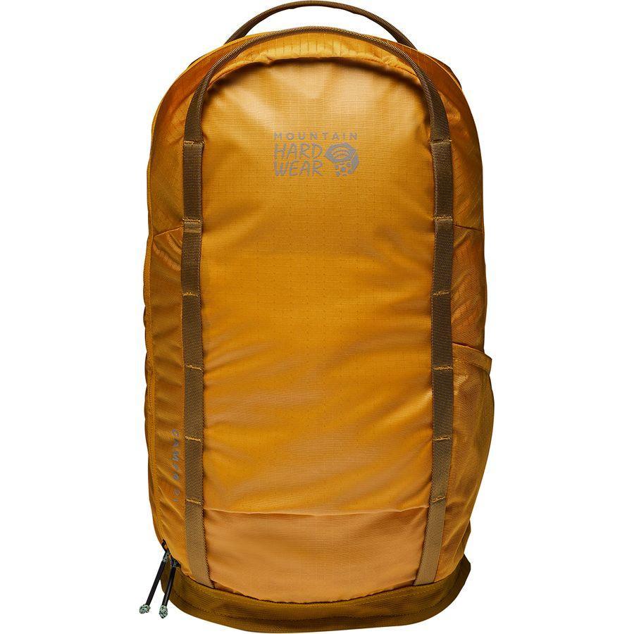 【エントリーでポイント5倍】(取寄)マウンテンハードウェア レディース キャンプ 421L バックパック Mountain Hardwear Women Camp 4 21L Backpack Gold Hour