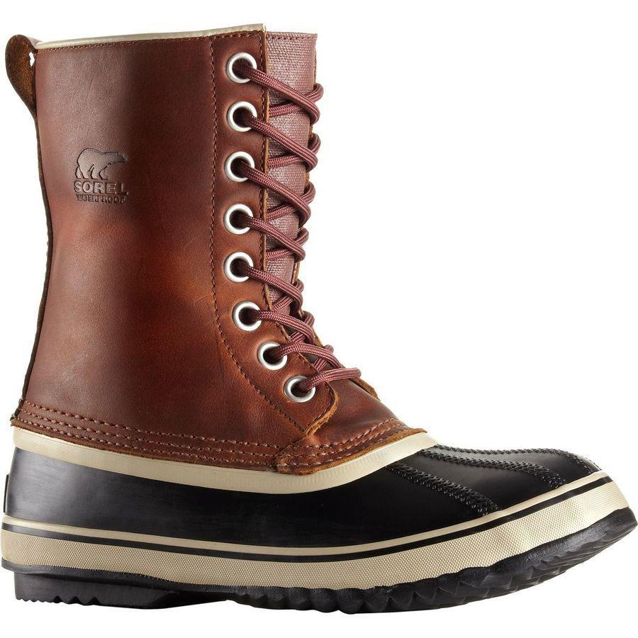 (取寄)ソレル レディース 1964プレミアム ブーツ Sorel Women 1964 Premium Boot Cappuccino/Oxford Tan