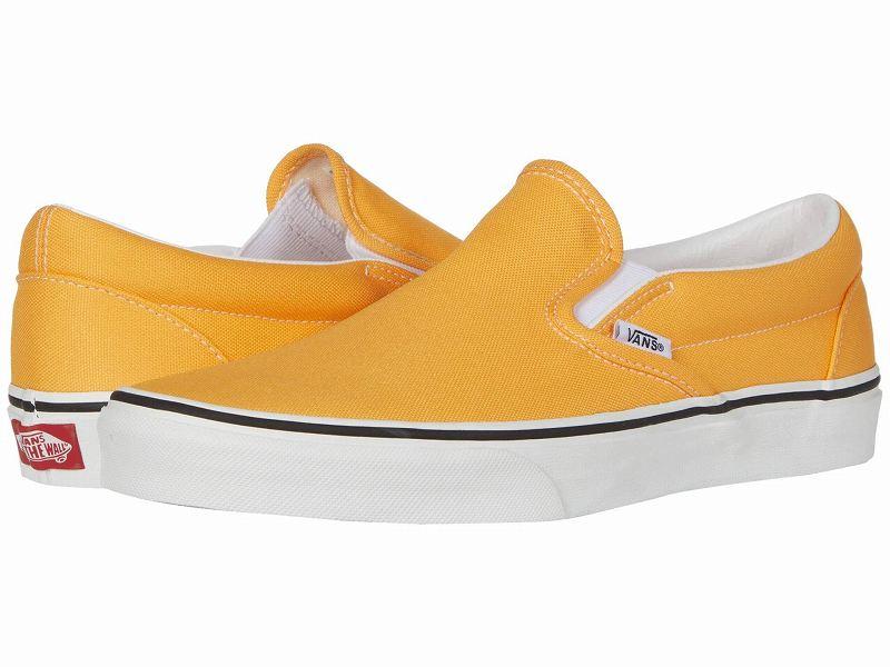 (取寄)Vans(バンズ) スニーカー クラシック スリップーオン メンズ Vans Men's Classic Slip (Neon) Blazing Orange/True White