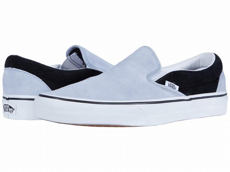 (取寄)Vans(バンズ) スニーカー クラシック スリップーオン ユニセックス メンズ レディース Vans Unisex Classic Slip (Suede) Zen Blue/Black