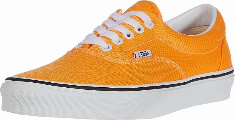 (取寄)Vans(バンズ) スニーカー エラ メンズ Vans Men's Era (Neon) Blazing Orange/True White