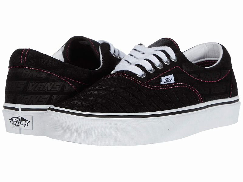 (取寄)Vans(バンズ) スニーカー エラ メンズ Vans Men's Era (Vans Emboss) Black/True White