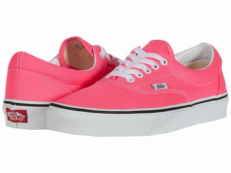 (取寄)Vans(バンズ) スニーカー エラ メンズ Vans Men's Era (Neon) Knockout Pink/True White