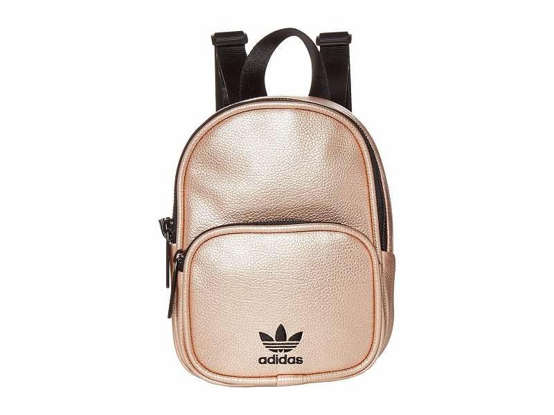 【エントリーでポイント5倍】(取寄)アディダス オリジナルス レディース オリジナル ミニ PU バックパック adidas originals Women adidas Originals Originals Mini PU  Backpack Rose Gold/Black