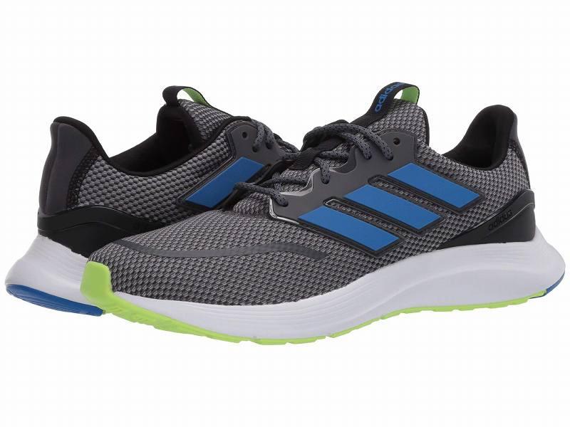 (取寄)アディダス メンズ エナジーファルコン ランニングシューズ adidas Men's Running Energyfalcon Grey Six/Glory Blue/Core Black