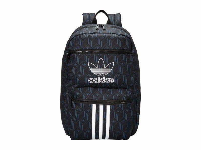 【エントリーでポイント5倍】(取寄)アディダス オリジナルス ユニセックス オリジナル ナショナル 3 バックパック adidas originals Unisex adidas Originals Originals National 3 Backpack Black/Bold Onix