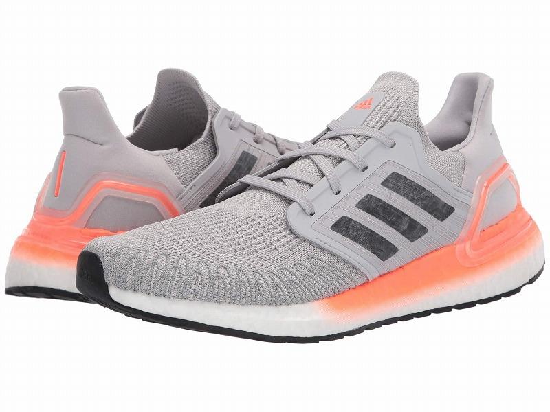 (取寄)アディダス レディース ランニング ウルトラブースト 20 ランニングシューズ adidas Women Running Ultraboost 20  Grey Two/Night Metallic/Signal Coral