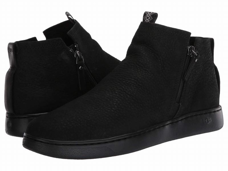 (取寄)アグ メンズ ピズモ スニーカー ジップ UGG Men's Pismo Sneaker Zip Black TNL