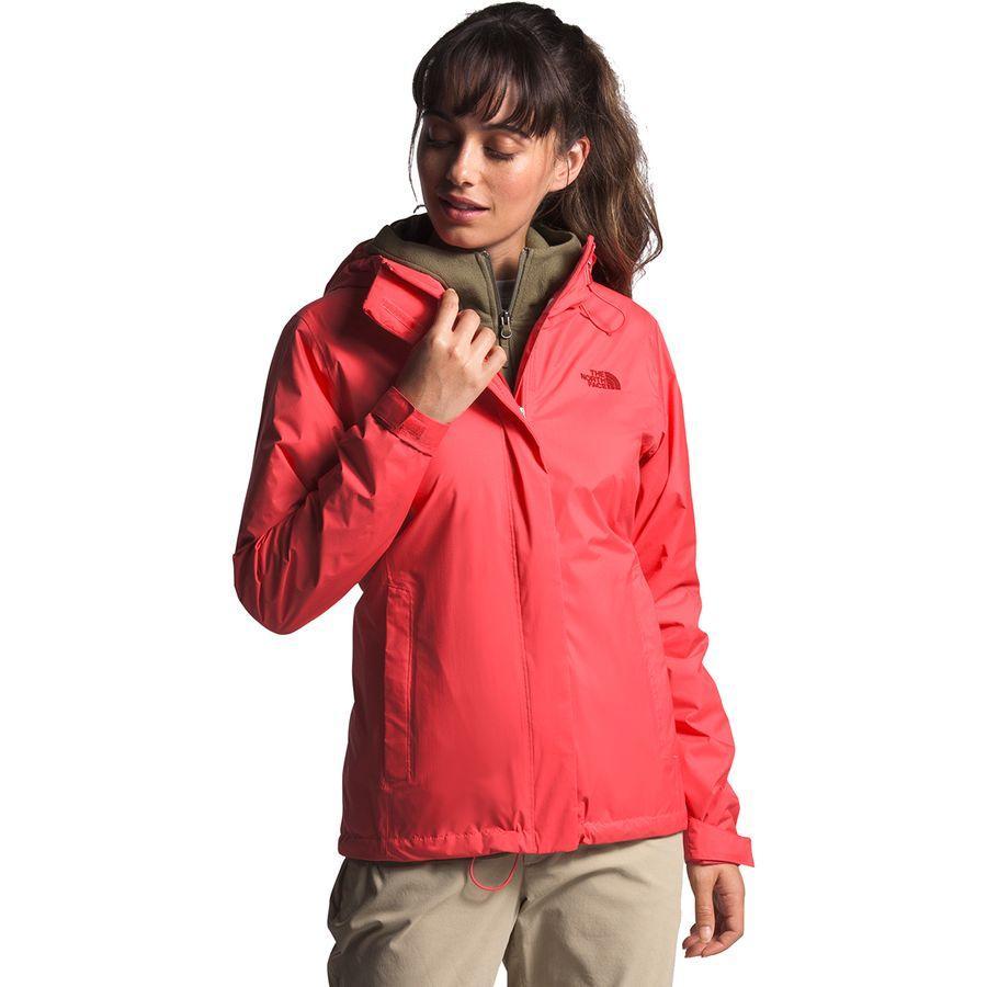 (取寄)ノースフェイス レディース ベンチャー 2 ジャケット The North Face Women Venture 2 Jacket Cayenne Red