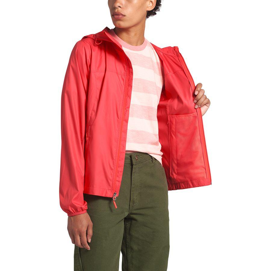 【クーポンで最大2000円OFF】(取寄)ノースフェイス レディース サイクロン フーデッド ジャケット The North Face Women Cyclone Hooded Jacket Cayenne Red